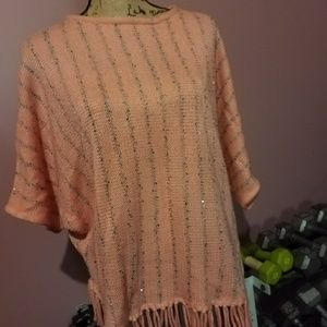 Beautiful poncho style sweater